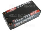 Gens ace LiPo 6000mAh 7.6V High Voltage 120C Shorty 65