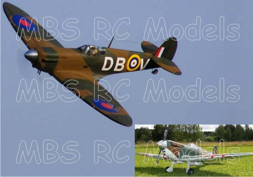 David Boddington / D.B. Sport & Scale Spitfire Mk.1a (2057 mm)
