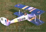David Boddington / D.B. Sport & Scale De Havilland Tiger Moth (1219 mm)