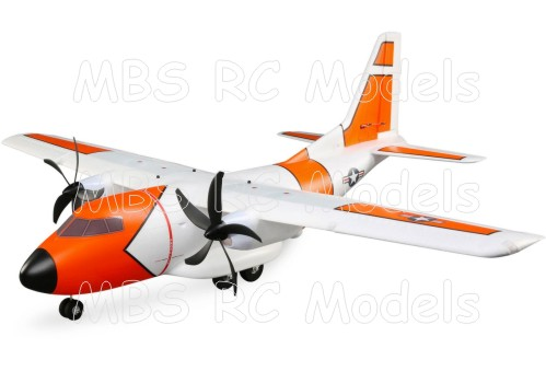 E-Flite EC-1500 Twin 1.5m BNF Basic med AS3X och SAFE Select
