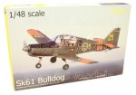 Scottish Aviation SK61 Bulldog, 1/48