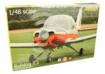 Scottish Aviation Bulldog T.1, 1/48