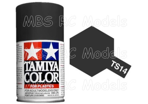 Tamiya TS-14 Black / svart, 100 ml