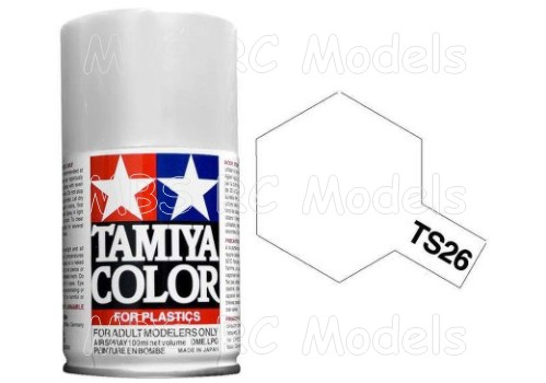 Tamiya TS-26 Pure White / vit, 100 ml